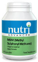 Nutri MSM Methyl Sulphonyl Methane 180